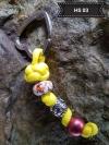 Halsbandbaumler gelb